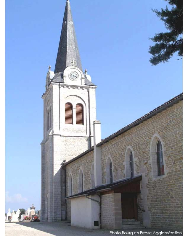 eglise-polliat-credit-Bourg-en-Bresse-Agglomération-lt - Bourg en Bresse Agglomération