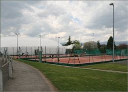 Court de tennis - Tennis Club de Douvaine