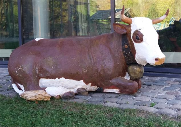 Art vache : Barbotine - OT Le Grand Bornand