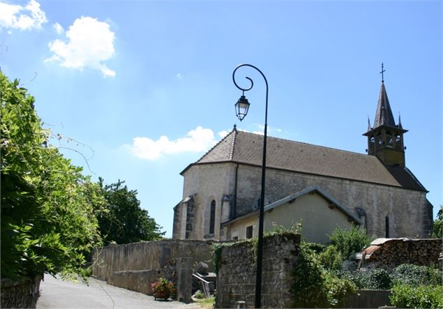 Eglise de Flaxieu - Belley Bugey Sud Tourisme