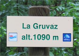 La Gruvaz © Office de tourisme