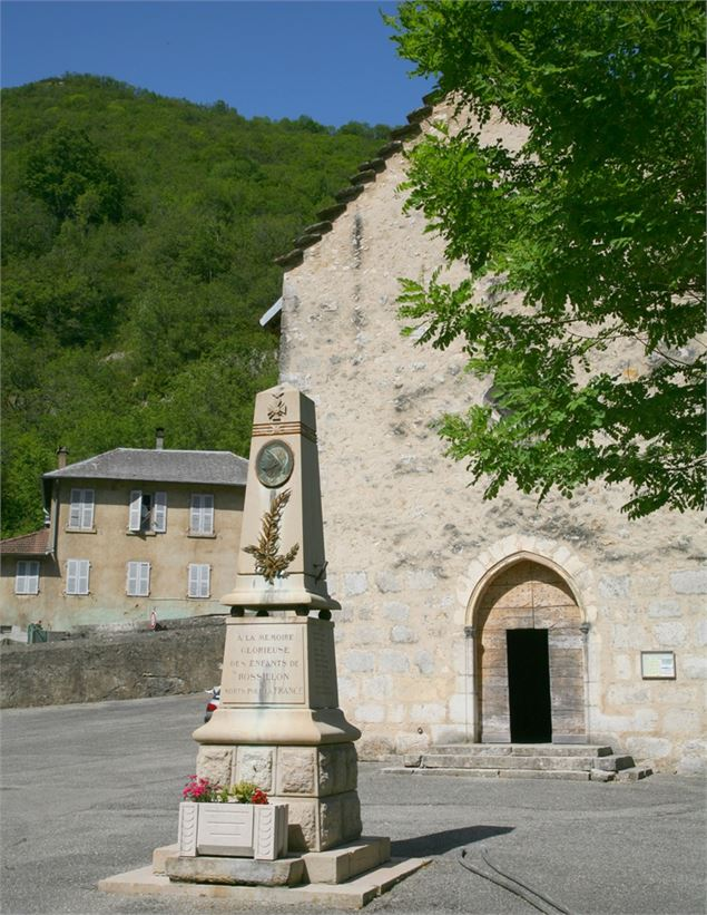 Eglise de Rossillon - Belley Bugey Sud Tourisme