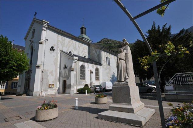 Eglise st etienne brides les bains - Office de tourisme de brides les bains ...