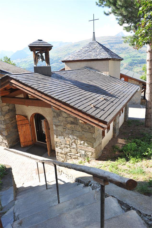 Chapelle sainte agathe montchavin les coches - Office de tourisme montchavin les coches ...