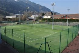 Terrain de Tennis_Saint Jeoire - Tennis Club des Brasses