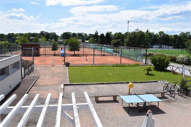 tennis squash club de ripaille thonon les bains. Black Bedroom Furniture Sets. Home Design Ideas