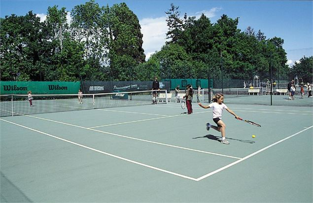 Evian Tennis Club - junior club